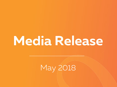 MEDIA RELEASE: 4 May 2018